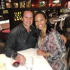 Beautiful interracial couple on a date night #love #wmbw #bwwm #swirl #biracial #mixed #lovingday #relationshipgoals