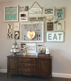 One thing that we should know in decorating a living room is that we don't have to make it look modern or fancy, sometimes DIY farmhouse living room wall decor can be a great deal for you who wanna feel the real atmosphere of the house. No need to buy a lot of expensive stuffs, just any secondh