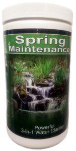 Spring Pond Maintenance Bacteria + Barley.