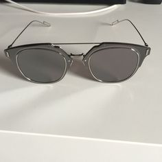 Dior Composit 1.0 by Christian Dior sunglasses Dior Composit 1.0 Palladium by Christian Dior sunglasses. Authentic. No case included. Very nice and sophisticated! Dior Accessories Sunglasses