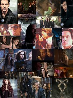 Shadow Hunters | The Mortal Instruments: City of Bones | Book Series by Cassandra Clare | #movie