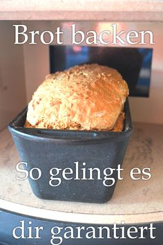 Baking bread - you can do it with these accessories! - House and bed - Baking bread accessories, Baking bread easy recipe - Vegan Breakfast Recipes, Vegan Snacks, Vegan Recipes, Spelt Bread, Vegan Bread, Easy Bread, Healthy Baking, Diy Food, Bread Baking