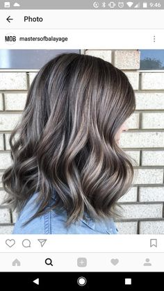 6 Great Balayage Short Hair Looks – Stylish Hairstyles Ash Hair, Brown Blonde Hair, Brunette Hair, Ash Brown Hair Color, Hair Color Balayage, Hair Highlights, Haircolor, Ombre Hair At Home, Hair Color And Cut