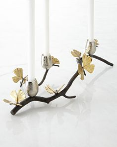 Butterfly Ginkgo Centerpiece by Michael Aram at Neiman Marcus.