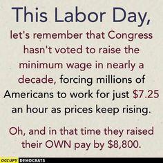 #LaborDay2015 #RaiseTheWage #FightFor15 #UniteBlue