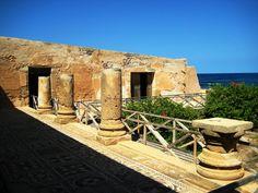 Ruins of Roman Empire. Leptis Magna, Libya.   THE LIBYAN Esther Kofod www.estherkofod.com