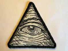 I was born in Turkey, so eyes hold a great deal of meaning to me as a means of protection from evil. Eye of Providence Iron on Patch by GerriTullis on Etsy, $8.50