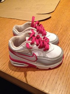 http://www.ebay.co.uk/itm/Cute-Pink-And-White-Nike-Air-Max-Immaculate-Size-5-Infant-/181642861756?pt=UK_Clothing_GirlsShoes_GirlsShoes_GL