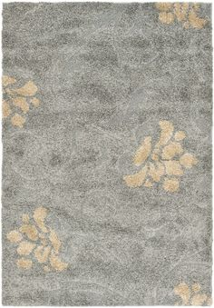 Safavieh's Florida Shag Collection SG464 area rug in gray/beige