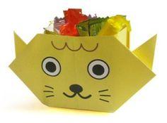 Origami Cutie pisicuta #activitaticopii #origami Craft for kids
