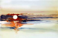 """Workshops des Plein Air Festival """"Malen an der Ostsee""""  Ich mag es, an der der Ostsee zu malen und versuche diese Begeisterung mit anderen zu teilen. Deshalb organisiere ich dort Aquarellkurs…"""