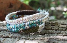 DYI instructions on how to create a Fiber Sparkle Fishtail Wrap Bracelet (Customer Design) - Lima Beads