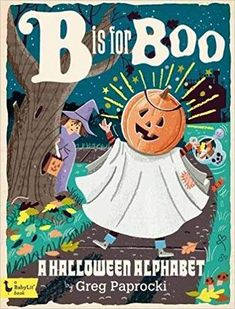 Alphabet Primer Book - B is for Boo