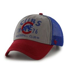 72927af58f4 Chicago Cubs Flathead Adjustable Cap by  47 Brand