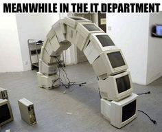 IT Recycles Old Technology