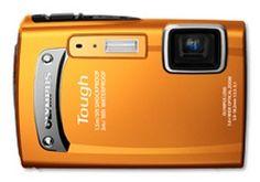Cámara digital compacta Olympus sumergible naranja  $149