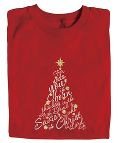 Christian Christmas shirt Bible Verse by TheLittleJoyShop on Etsy ...