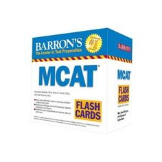 Students preparing to take the new Medical College Admission Test will value this set of flash cards as they brush up on questions typical of those that appear on the actual MCAT 2015. The cards--with