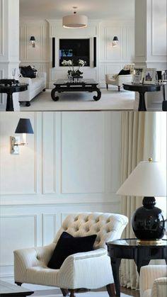 Elegant Living Room, Living Room Modern, Home And Living, Living Room Designs, Living Room Inspiration, Interior Inspiration, Sitting Room Decor, Interior Architecture, Interior Design