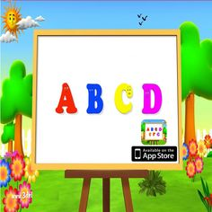 ABC For Kids is a fun and educational application, which is designed to educate as well as to entertain, help children learn English quickly and effectively. with this intelligent game, your kids will remember new word better and pronounce correctly, develop their memory skills:- https://goo.gl/ek3TWH