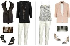2 Ways to Wear: Jacquard Pants #layeredONstyle