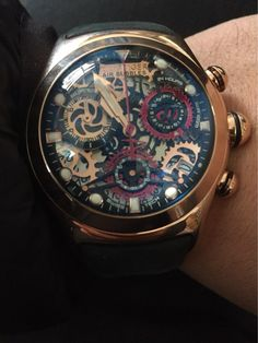 b9008a02e Reef Tiger/Rt Aurora Big Bang Chronograph Sport Watches For Men Skeleton  Dial With Date