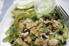 Mexican Chicken Pine Nut Salad