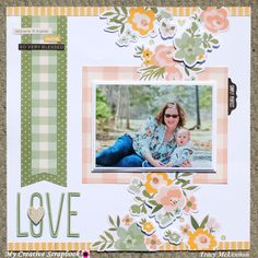 My Creative Scrapbook- August Main Kit Simple Stories- Spring Farmhouse Collection Baby Girl Scrapbook, Baby Scrapbook Pages, Scrapbook Titles, Wedding Scrapbook, Scrapbook Page Layouts, Scrapbook Cards, Scrapbooking Ideas, Scrapbook Sketches, Creative Memories