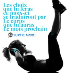 choix et ton corps citation motivation fitness supercardio, Phrase Motivation, Motivation Regime, Sport Motivation, Fitness Motivation Quotes, Cardio Quotes, Yoga Inspiration, Fitness Inspiration, Style Inspiration, Citations Yoga