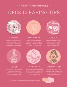 How and Why to Clear Your Tarot Deck, 6 Easy Ways Witch Spell Book, Witchcraft Spell Books, Taro Do Amor, Tarot Card Spreads, 3 Card Tarot Spread, Tarot Cards For Beginners, Oracle Tarot, Oracle Deck, Tarot Astrology