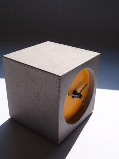 An original Bloc Cloc #concrete #clock #design