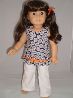 18 doll clothes fit american girl or bitty by sassydollcreations, $10.99