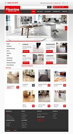 Interior & Furniture inspirations at the Coffee Break? Browse for more Interior & Furniture and OpenCart templates! // Regular price: $90 // Unique price: $2500 // Sources available: .PSD, .PNG, .PHP, .TPL, .JS // #InteriorFurniture #OpenCart #templates #floor #onlineStore