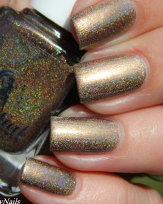 Chocolate River swatched by Serenity nails