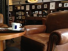 """See 162 photos and 67 tips from 1602 visitors to Brown's Coffee Shop. """"Interier is very cosy, coffee is good and pretty cheap. Brown Coffee, Coffee Shop, Furniture, Shopping, Home Decor, Lisbon, Coffee Shop Business, Loft Cafe, Home Furnishings"""