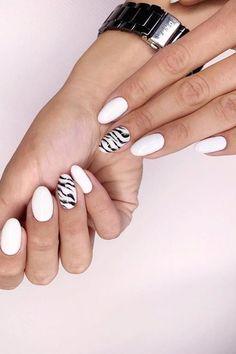 #white #manicure #black #nails #love #nailart #gelnails #nail #naildesign #art #beauty #beautiful #gelpolish #nailswag #style #nailpolish #gel White Manicure, Swag Nails, Gel Polish, Gel Nails, Nailart, Nail Designs, Beautiful, Beauty, Style