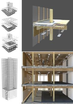 Michael Green architecture - Cross-laminated timber. Mass timber construction.