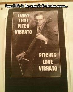 Music geek humor...