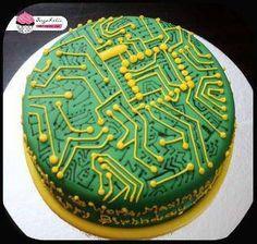 electrical engineering cake | Finest Geekery