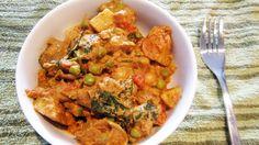Spicy Vegan Potato Curry | Vegangela