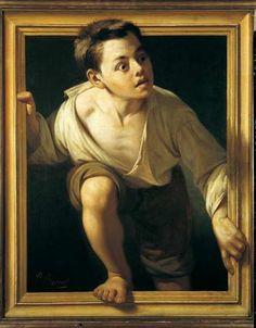 "Pere Borrell del Caso - "" Huyendo de la crítica"", 1874"