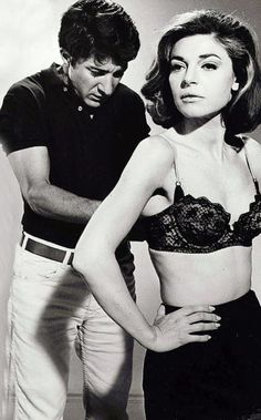 "'so here's to you, Mrs. Robinson..."" Dustin Hoffman and Anne Bancroft in The Graduate"