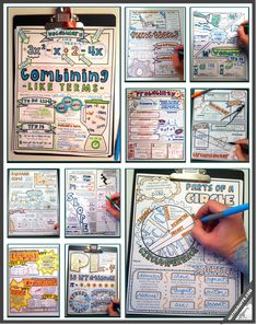 Doodle Notes - for Left Brain / Right Brain Communication - Learning, Memory, & Focus in Math Class