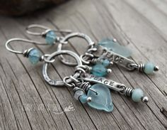 "Earrings Everyday ""The New Bohemian"" earrings by Cindy Pack."