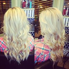 I like the second one. Its like blonde ombre. I want to keep my blonde hair... Should i try? Just not as this bright of blonde