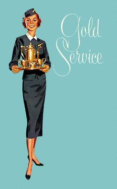 For the politically aware flight attendants out there. Retro Advertising, Vintage Advertisements, Air Hostess Uniform, Airline Uniforms, Nostalgia, Flight Attendant Life, Come Fly With Me, Vintage Travel Posters, Vintage Airline