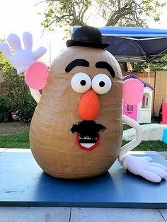 DIY Paper Mache Mr. Potato Head