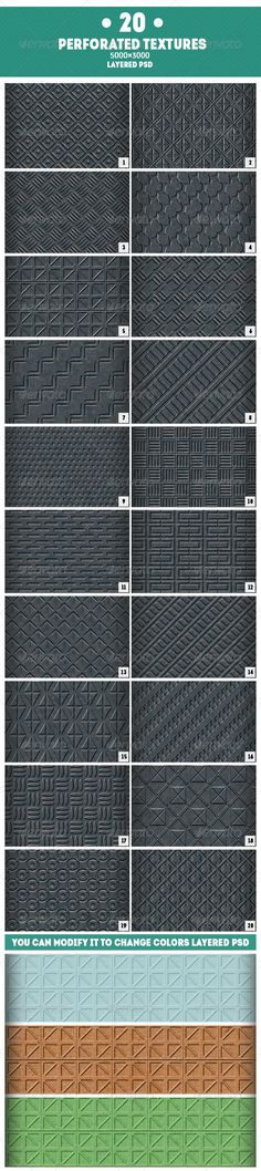 Realistic Graphic DOWNLOAD (.ai, .psd) :: http://jquery.re/pinterest-itmid-1007718227i.html ... 20 Perforated Textures ...  background, backgrounds, black, circle, digital, grey, industry, metal, metal texture, metallic, perforated, perforation, solid, structure, surface, tech, techno, technology  ... Realistic Photo Graphic Print Obejct Business Web Elements Illustration Design Templates ... DOWNLOAD :: http://jquery.re/pinterest-itmid-1007718227i.html