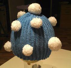Schneeball-Mütze