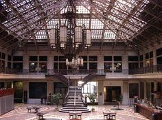 The interior of the Ellicott Square building is one of my favorite indoor spaces in Buffalo.